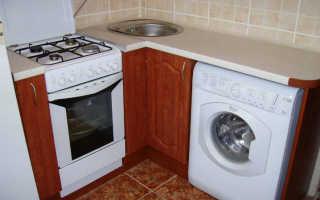 Подключение стиральной машинки на кухне: советы от мастера для новичков и опытных