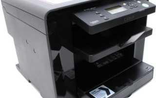 Как настроить принтер и сканер Canon MF4018