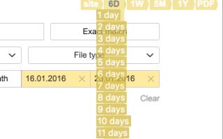 Как включить расширенный поиск в Яндексе