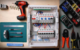 Как правильно подключить автоматы в электрическом щите — пошаговая инструкция