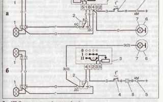 Схема электропроводки УАЗ 452: особенности управления освещением и системой зажигания