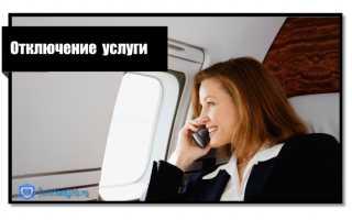 Описание условий предоставления услуги Разговоры без границ