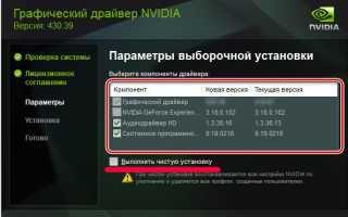 Этот графический драйвер NVIDIA несовместим с данной версией Windows
