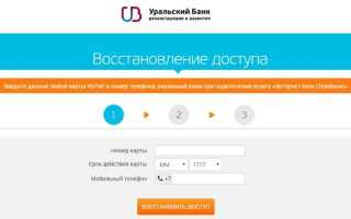 Как активировать карту УБРиР