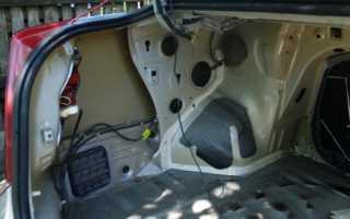 Установка камеры заднего вида в Chevrolet Lacetti универсал