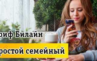 Тарифный план «Проще Простого» Билайн в Казахстане: описание, как подключить