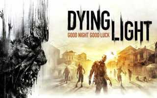 Dying Light The Following как поменять язык