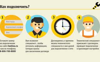 Способ подключить абонентскую плату 1 рубль в день в билайн на 6 месяцев