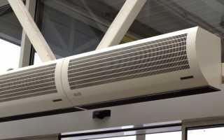 Как подключить тепловую завесу к электричеству