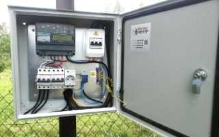 Подключение бензинового генератора для резервирования 3-х фазной сети