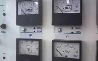 Схемы подключения амперметра через трансформатор тока, как выбрать