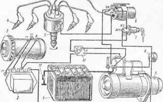 Схема проводки УАЗ буханка