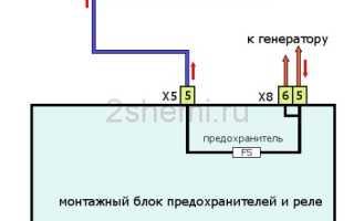 Схема подключения вентилятора охлаждения ваз 2109 инжектор