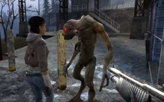 Half-Life 2:  Как включить консоль в Half Life 2