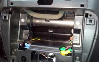 Пошаговая установка магнитолы Лада Гранта: как поставить самому в стандарт, норму и люкс