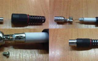 Штекер для подключения антенного кабеля к телевизору, как подключить