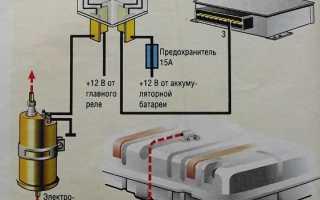 Как подключить 4 контактное реле на сигнал