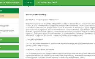 М-банкинг беларусбанка: установка, вход в систему и основные возможности