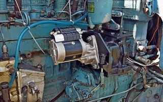 Варианты установки стартера на МТЗ 80 вместо пускача