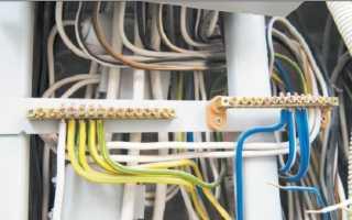 Особенности подключения силового кабеля к различным элементам электрической сети