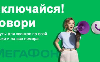 Включайся Говори от МегаФон — описание тарифа, стоимость по регионам России