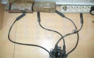 Порядок подключения высоковольтных проводов ваз 2110 инжектор