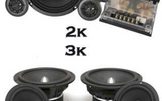 Что такое компонентная акустика ее особенность и установка