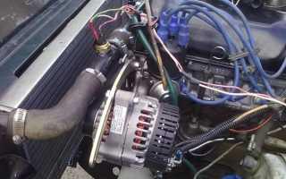 Демонтаж и подключение генератора на Нивах 2121: поэтапная инструкция