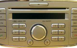 Включаем блютуз на штатной магнитоле Форд Фокус 2 6000cd (инструкция внутри)