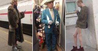 Модники из нашего метро: 20 фото, которые точно смешнее анекдотов