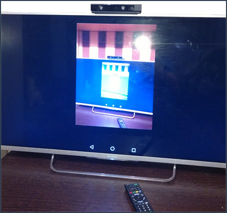Работающая трансляция с Android на телевизоре