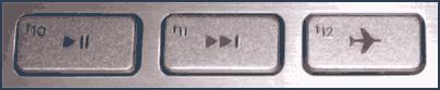 Клавиша режима самолета на ноутбуке
