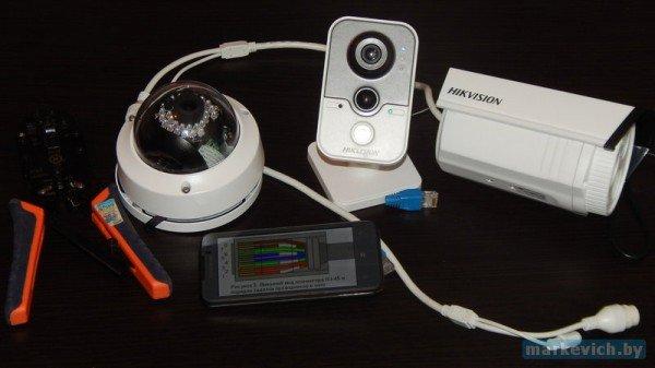 Подключение IP камер