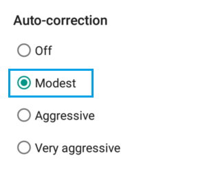 set-auto-correction-level-android-phone.png